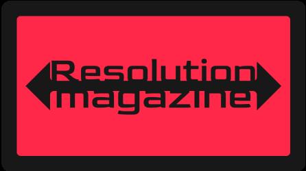 resolution magazine logo